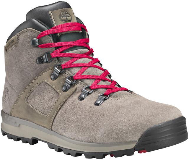 Timberland GT Scramble WP Boots en cuir Mi hautes Homme, slush grey